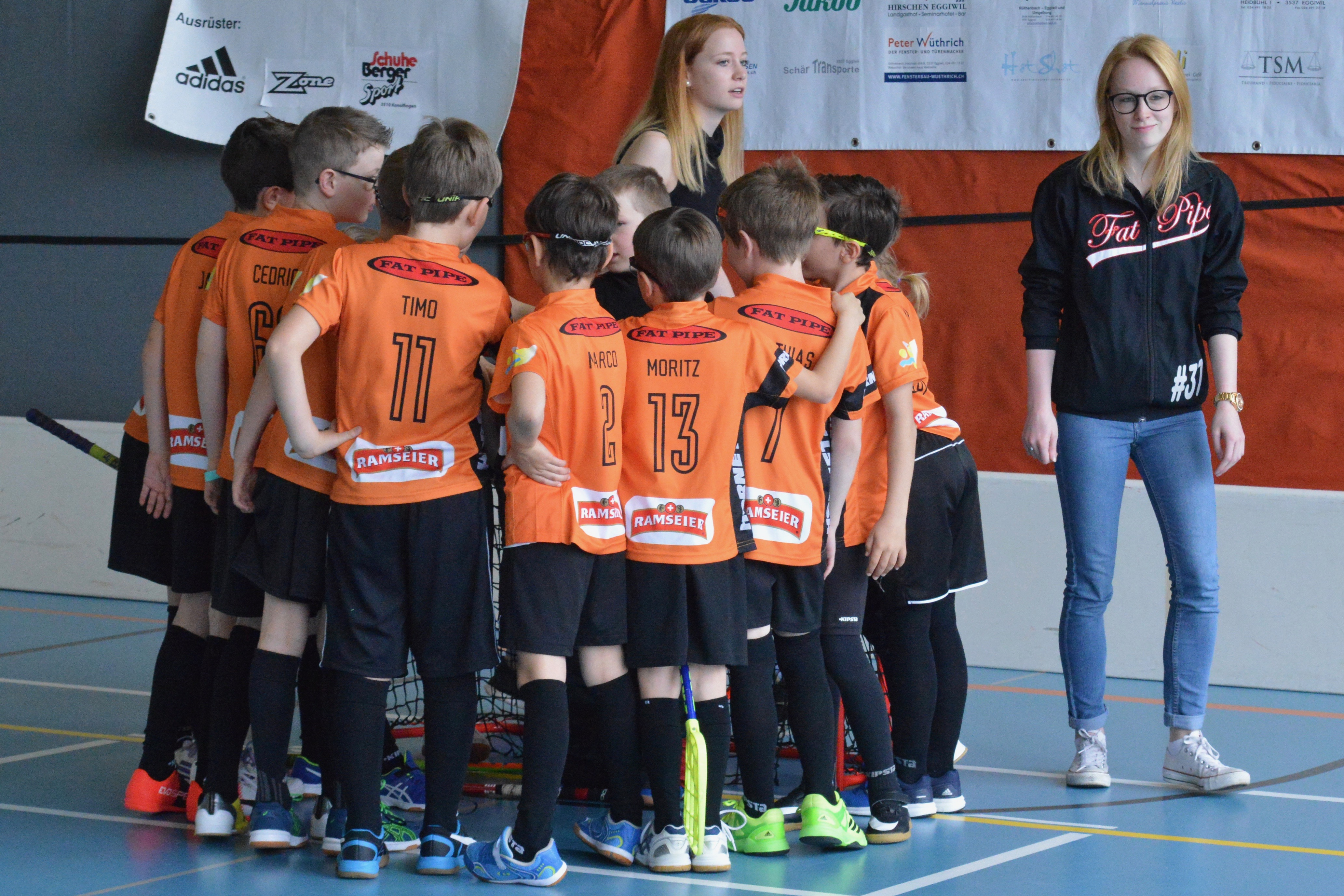 Junioren E II - Hornets Moosseedorf ll Saison 2016/17