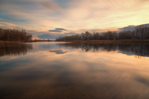 landscape lakescape seascape clouds longexposure lake water reflections sunrise dawn daybreak lakechatfield colorado landscapes