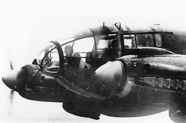 Heinkel He-111 medium bomber