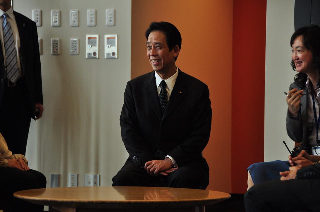 Ministor Visit | Tatsuo Kawabata | 川端達夫沖縄及び北方対策担当 ...