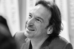 Paris - Salon du Livre dédicace de François Busnel