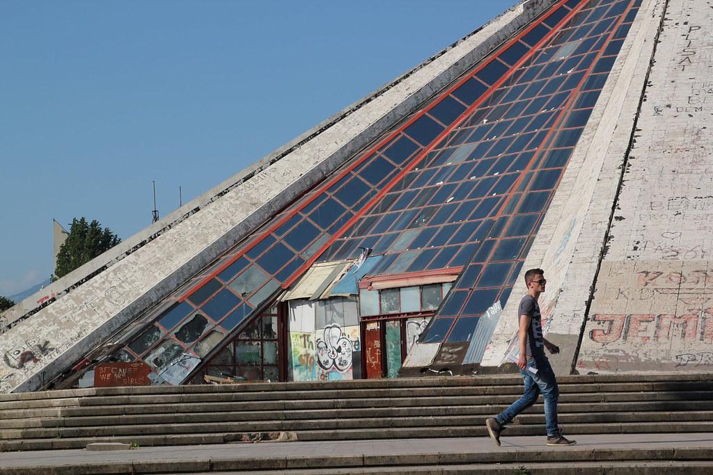 Pyramid, Tirana
