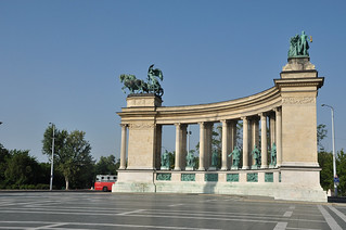 Heroes Square; Millennium Monument | by JonathanWolfson