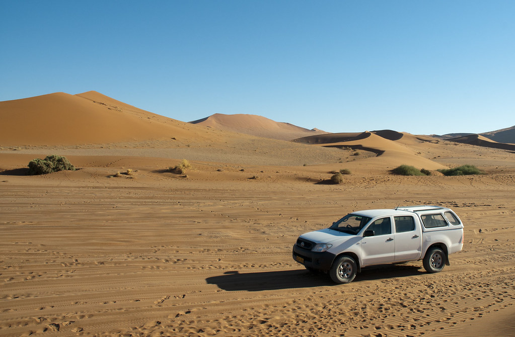 Aristide in Nabib Desert