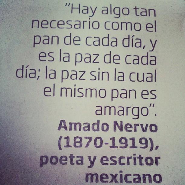 La Paz Definición De Amado Nervo Amadonervo Love Quote
