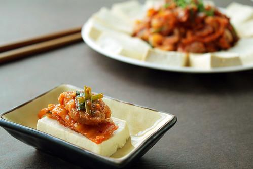 Tofu Kimchi [두부김치] | by KFoodaddict