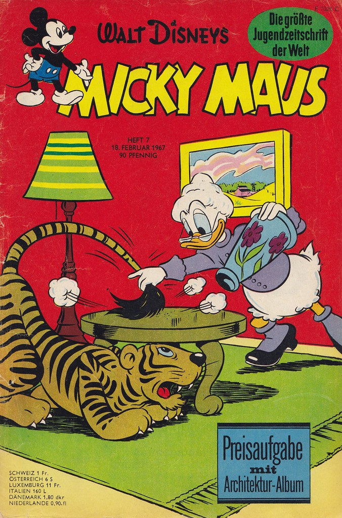 micky maus 71967  micky maus  heftreihe copyright