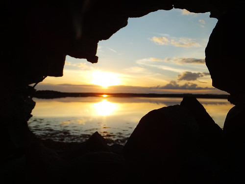 county sunset castle church ruins clare ruin sunsets caves jaggedcaveviews jaggedcaveview