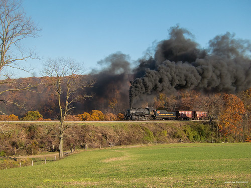 railroad autumn trees heritage history fall tourism train scenic tracks engine railway trains tourist wm steam restored historical locomotive curve foilage baldwin railfan freight cumberland excursion frostburg wmsr 280 westernmaryland 734 westernmarylandscenicrailroad helmstetters