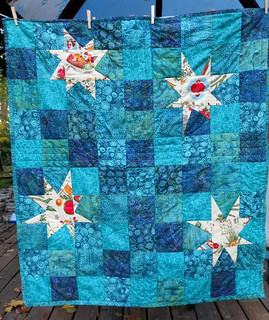 Wonky Star Lap Quilt | by cybperry