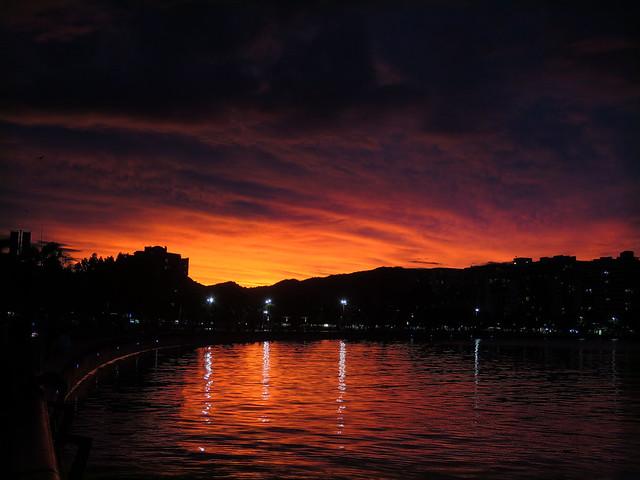Sunset & Cyclone