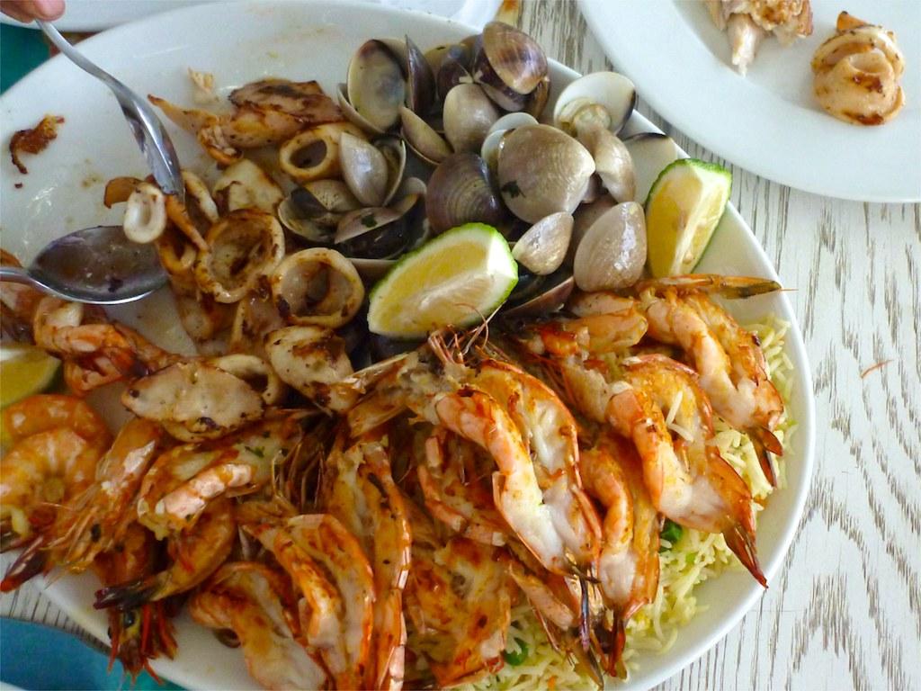 Costa de Sol restaurant, Maputo, Mozambique