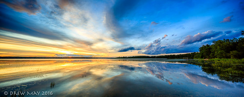 drewmayphotography landscape sunset lakeisle orange clouds trees summer lakes alberta lacstannecounty sky canada refection calm refections drewmayphoto 124