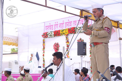 Kh. Sanchalak, Sant Nirankari Sewadal, expresses his views
