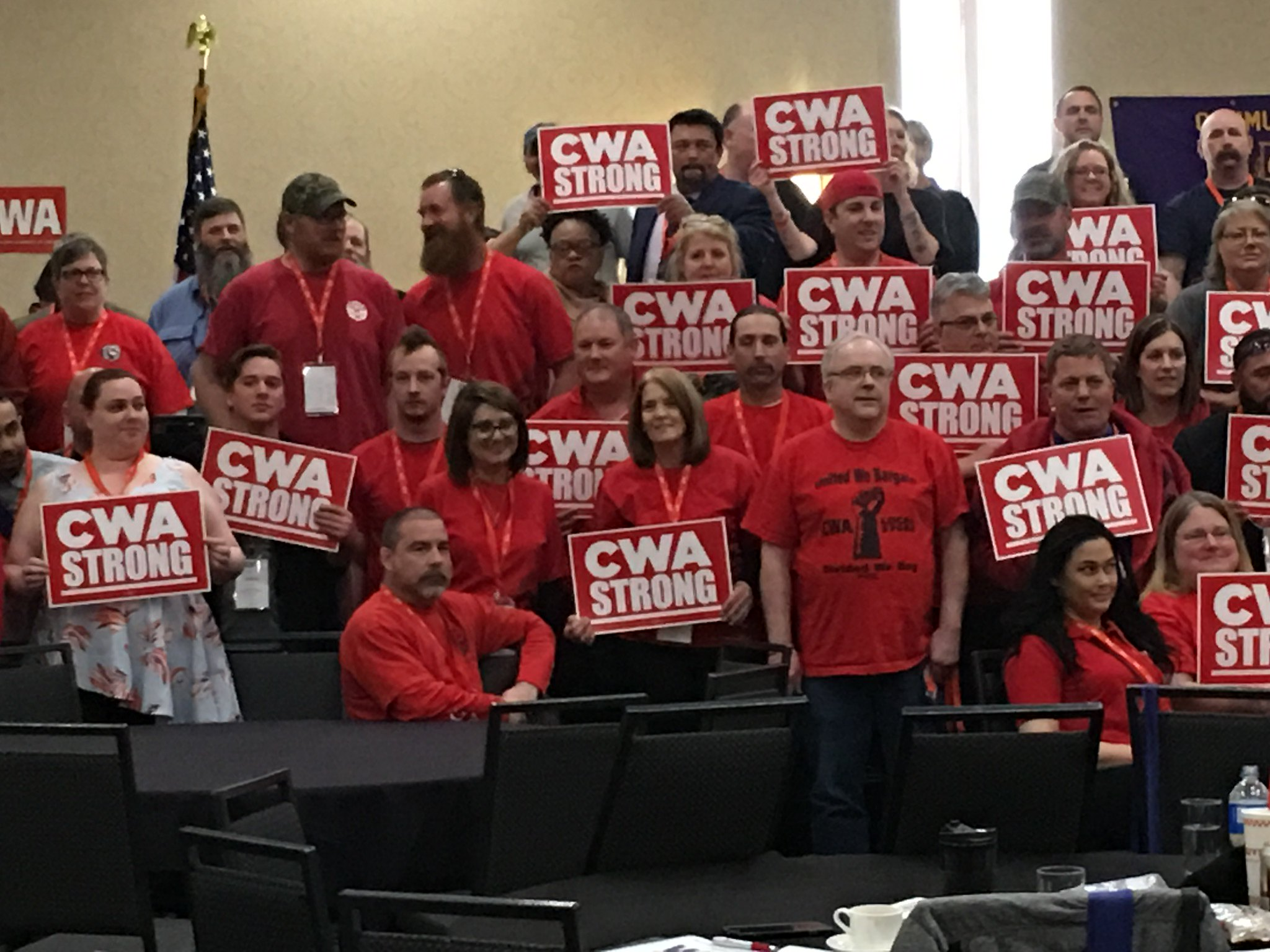 CWA STRONG at the 2017 District 7 Meeting