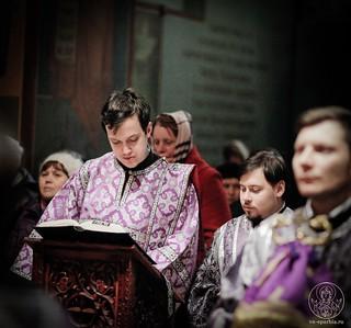 Всенощное бдение в Софийском соборе 300