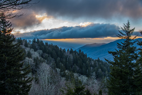 gsmnp greatsmokymountains nc northcarolina mountains sunrise