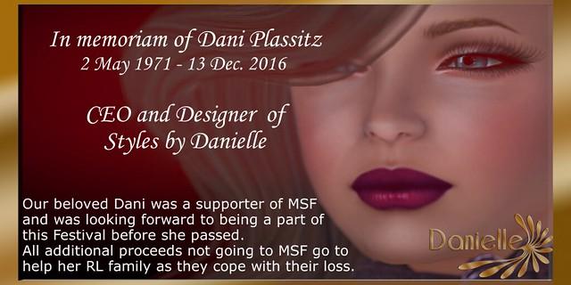 Danielle: Spoonful of Sugar Event