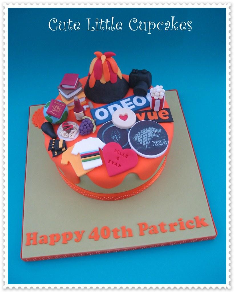 Peachy Favourite Things Birthday Cake Heidi Stone Flickr Personalised Birthday Cards Sponlily Jamesorg