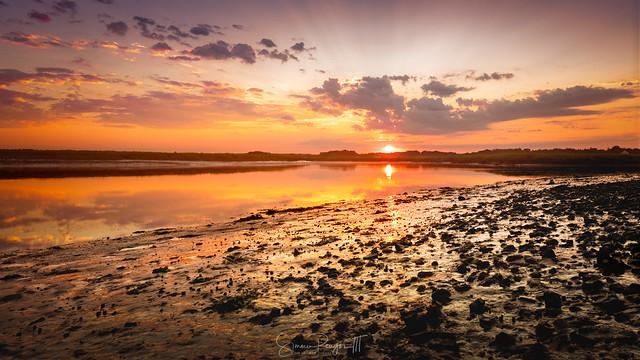 Sun Painted Shore Redeux*
