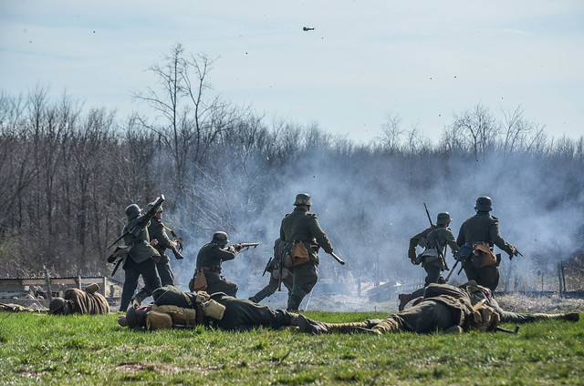 WW I Reenactment 3