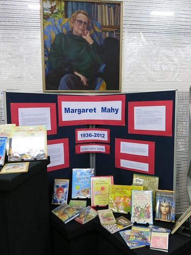 Margaret Mahy display