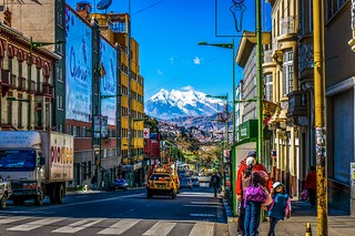 Streets of La Paz,Bolivia | by Gаme of light