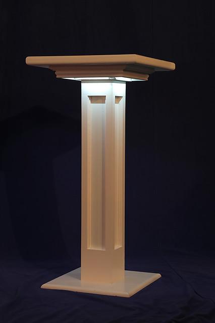 Decorative Column Table-Lighted