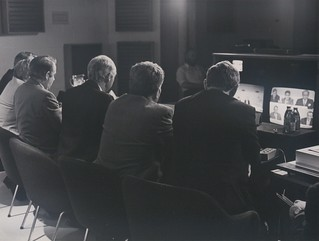 Launch of International Video Conferencing, 1987 (2) | by UL Digital Library