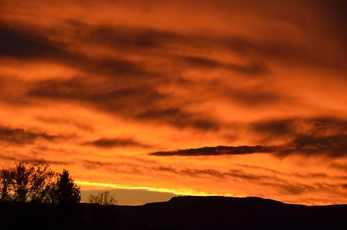 night cloudy sunset102713