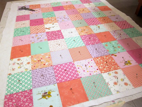 Posy Baby Quilt Take 2 | by Everyday Fray