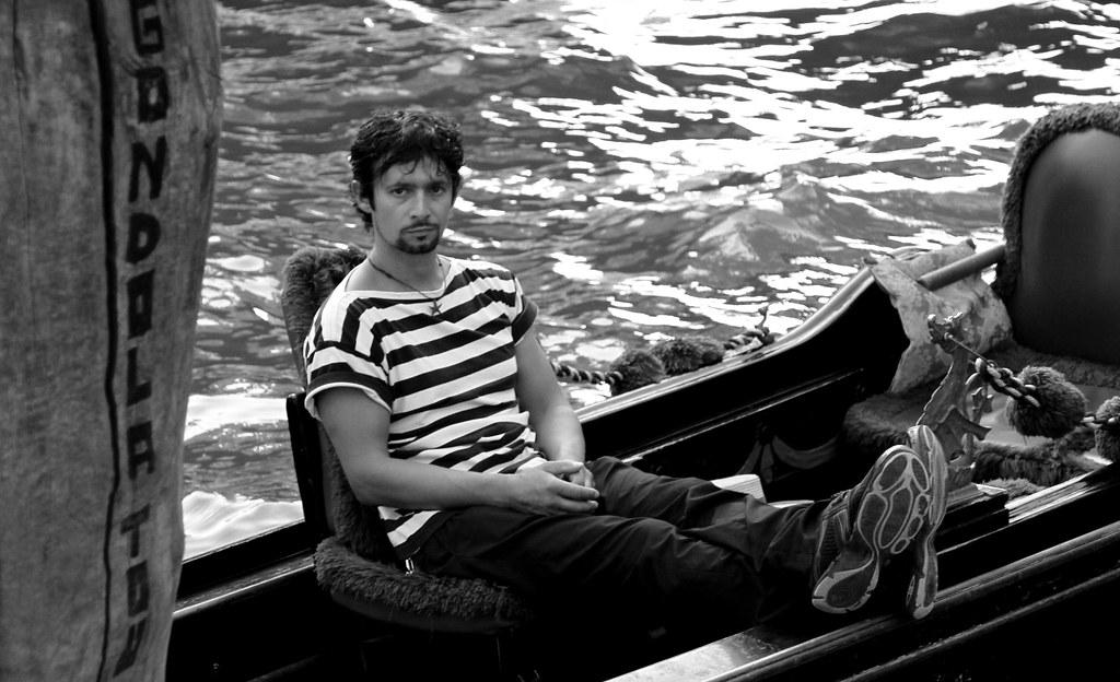 2013 08 30 Gondola Tour mit Gondoliere a