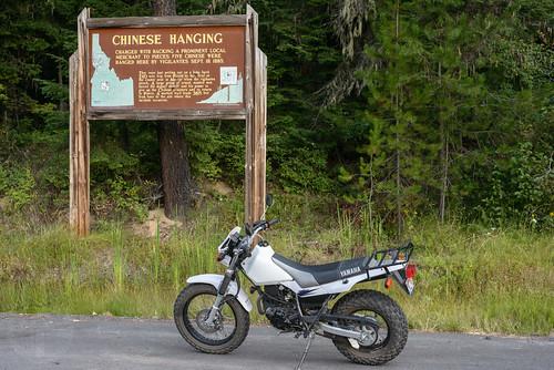 sign idaho motorcycle yamahatw200