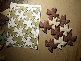 Yet another set of Escher cookie cutters | by fdecomite