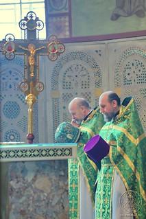 Литургия в Софийском соборе 240