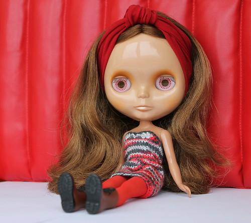 red wall & cinnamon girl | by helenaaahaha