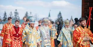Литургия в Иверском монастыре 640