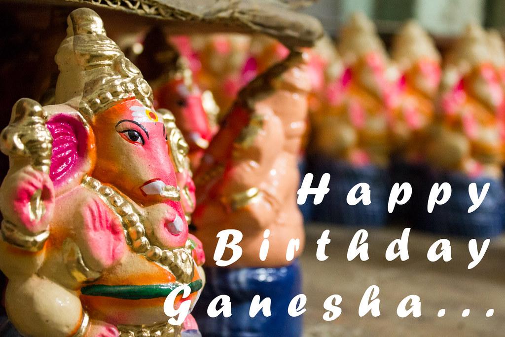 Happy Birthday Ganesha Cwc Walk286 Kosapet Kuyapet Flickr