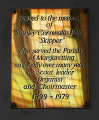 Scout leader, Organist and Choirmaster