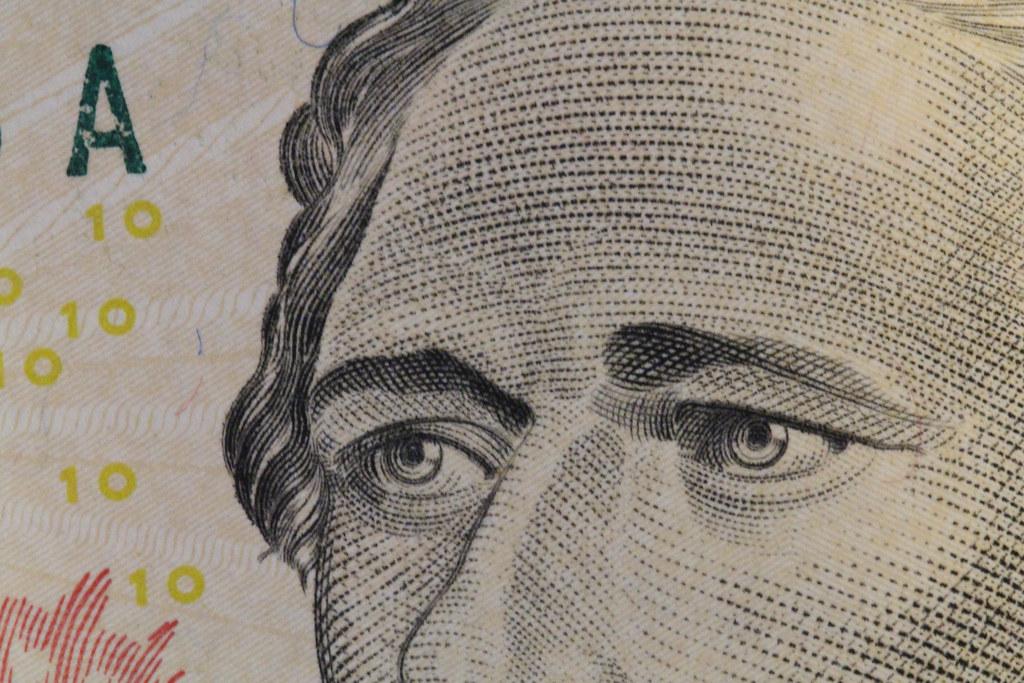 Hamilton on the 10 dollar bill | Bill Damon | Flickr