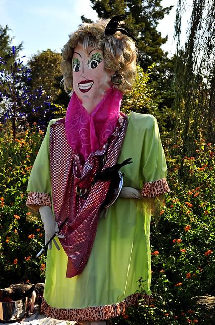 Phyllis Diller Scarecrow