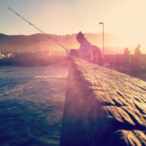 sunrise square pier fishing nashville squareformat pacifica sfist iphoneography instagramapp