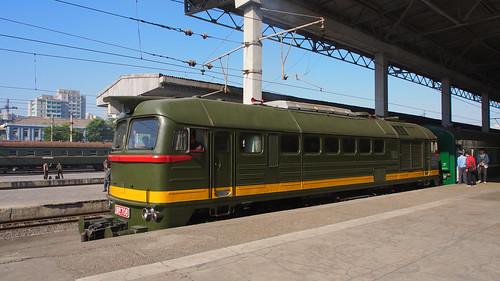 DPRK railway diesel.