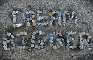 Message in the Sand | by Randy Heinitz