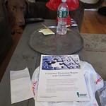 Dog awaiting table snacks