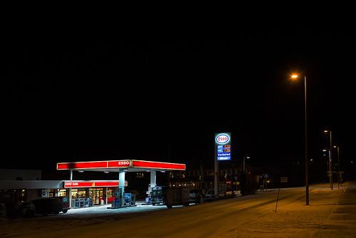 Askvoll by Night | by Eivind Senneset