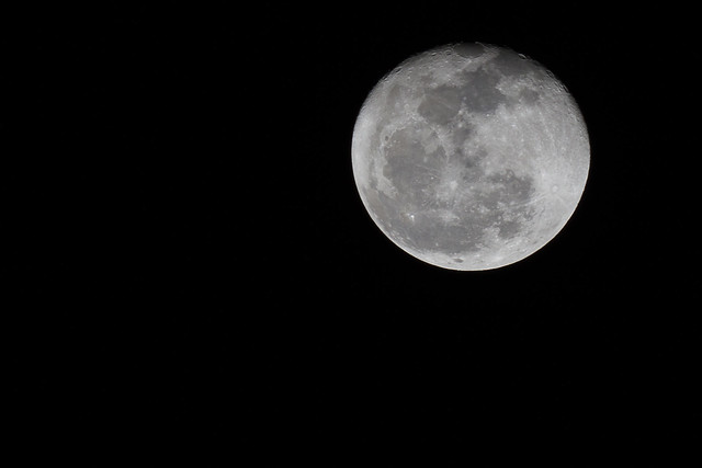 Slightly emptied moon