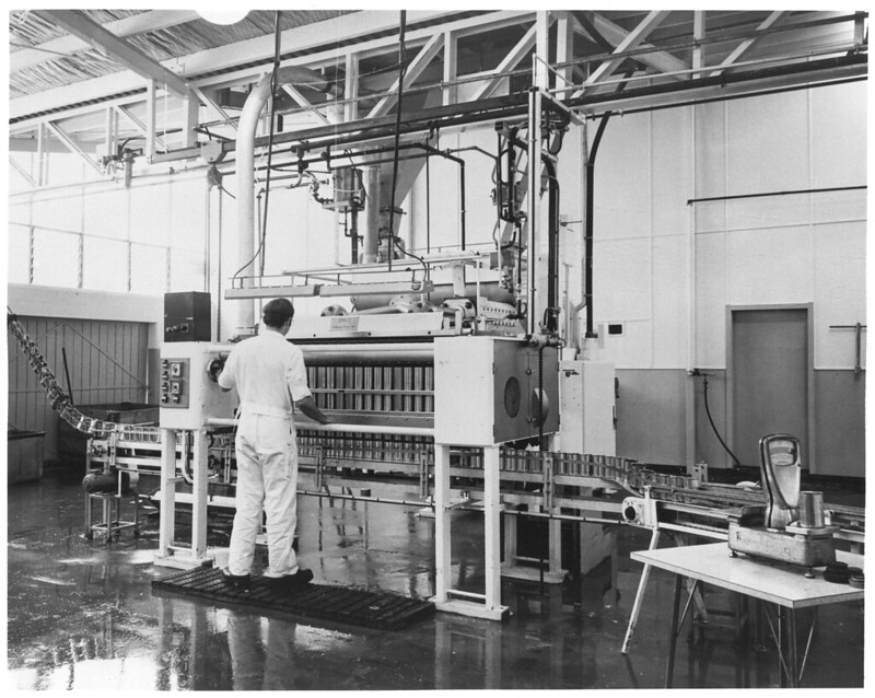 1967 First Canning Machine