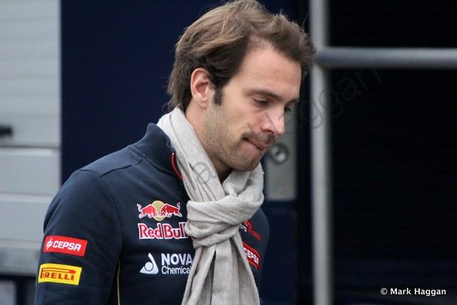 Jean-Eric Vergne at Formula One Winter Testing 2014