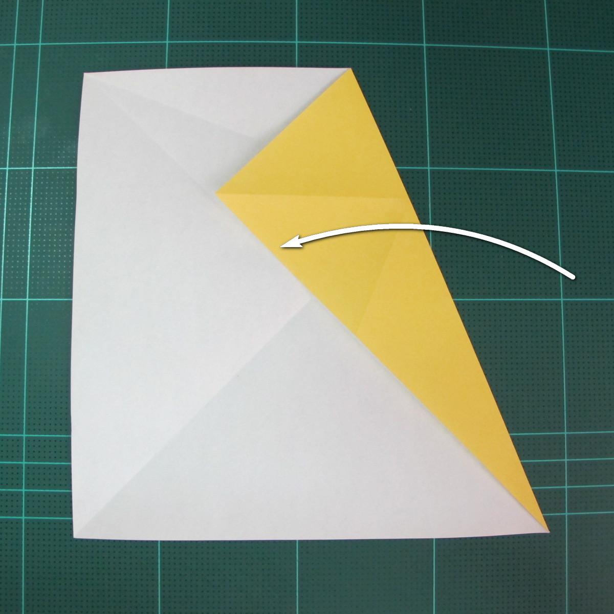 วิธีการพับกระดาษรูปม้าน้ำ (Origami Seahorse) 005
